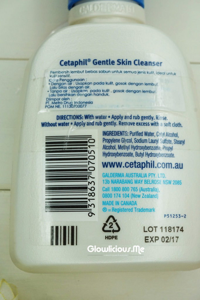 Cetaphil Gentle Skin Clenaser & Moisturising Cream Review