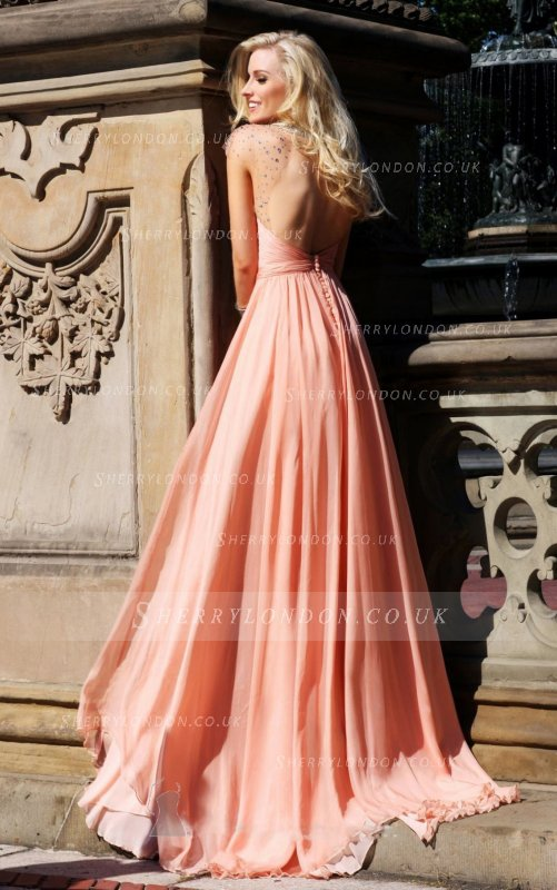 "Sherry London UK | Evening Dresses To Die For Sherry London, a global online retailer based in UK, provides you thousands of beautiful dresses. There are evening dresses, prom dresses, wedding dresses, and many dresses for many occasions. There are 90 evening maxi dresses designs here, and they can be changed into another colour, based on the customer's needs. Made of premium chiffon and sewn by professional tailor, making Sherry London get the fame worldwide. The designs are so various. You can find many dress' silhouette here, from A-line, sheath to mermaid. There are also 53 colour selections to be chosen, very stunning right? Black Evening Dresses Black never goes out of style! Wearing black dresses is never get old. Many fashion trends change, but black colour always have its own special place in the fashion world. ""You can wear black at any time. You can wear it at any age. You may wear it for almost any occasion."" — Christian Dior Black dress can make us looked slimmer than we actually are. It also can give us elegant and bold look. Beside that, black colour is easy enough to be mixed and matched with another colour. You don't have to waste too many time in deciding which colour to be mixed when wearing a black dress, since it is a neutral colour. Evening dresses are dresses which are worn to formal occasions. They are usually long dresses, rather to tea-length or ballerina-length dresses. Evening dresses are made of elegant and luxurious fabrics such as chiffon, satin, organza, velvet and silk. They are also decorated with laces and beadings to make them looked more graceful. Since black is a neutral colour (as I mentioned before), here are some tips on wearing black dresses. 1. Simple dresses need more embellishments Wear a pin/brooch to make your dress doesn't look too dull. You can also wear a long necklace or bling earrings and bracelets. 2. Hair styling is a must Whether you choose the pumped-up hairstyle, or having the braided updos, it would look nice than to apply no hairstyle at all. Having a beautiful hairstyle makes you look glamorous. But remember not to wear too many accessories on your body if your hair is the most stand-out part (we don't want you to look too full). 3. Beautiful shoes take you to a beautiful place You can choose a pair of black wedges or black pumps, but you can also choose an animal-print shoes or red heels to give a unique look on your appearance. In Sherry London, you can find hundreds of black evening dresses to wear to many formal occasions. There are many necklines and silhouettes you can choose for a glamorous, sexy and elegant looks. Made of premium fabrics and tailored by professionals, making the dresses become absolutely stunning to be worn. ______________________________________ Long Evening Dresses There are many dresses silhouettes and necklines, and there are many kinds of dress' length too. In this post we will talk about long dresses hemlines, which can be divided into some groups such as ankle-length, floor-length, sweep/brush-train, court-train, panel-train, whatteau-train, chapel-train, cathedral-train and monarch-train. 1. Ankle-length dresses are the ones which show off your ankle, or your shoes completely. This type of dresses are the only long dress which can show off your beautiful shoes perfectly, while the other long dresses can't. Ankle-length dress is perfect for you who want to walk and move easier in a party, because -at least- you can see where your feet is moving. 2. Floor-length dresses are dresses which fabrics touch the floor where you're standing on, even when you're wearing a high-heels, wedges or pumps. Ankle-length and floor length are the ones that can be normally worn as evening dresses, while the other train are normally worn in wedding dresses. 3. Sweep/brush-train is a long dress whose fabric touch and literally brush the floor. It is similar to court-train. The difference is court-train long fabric is extended from the waist, while sweep train is extended from the hemline. 4. Panel-train is a separated part from the dress, which is attached on the waist. This panel train is in desirable length, depends on the bride's wish. Watteau-train is almost the same. The difference is watteau-train is attached on the shoulders. 5. The three longest trains are the chapel, cathedral and monarch trains. They are just like the court-train which length is extended from the waist. Chapel-train's length is 3½-4½ feet from the waist, Cathedral-train's length is 6½-7½ feet from the waist, and the longest train, Monarch-train's length is 12+feet from the waist. The monarch train indeed is a royal dress, it needs at least 2 persons to help the bride lift the train. Sherry London provides you with hundreds of long evening dresses to be chosen. Most of them are ankle-length dresses and floor-length dresses that can make you look very beautiful and make you feel like you're attending a red-carpet ceremony. _________________________ Sherry London UK, with thousands of Evening Dresses, will definitely make you drooling of buying new dresses. There are many kinds of dresses with high-quality fabrics and sewn by professional tailors. The designs are very high-class and elegant and can be worn to many formal occasions. When we are going to a formal occasions with evening dress, there is one important thing to be paid attention for: the shoes we are wearing. In Sherry London, there are dresses with simple-elegant design and there are also dresses with many embellishments like beads, laces and blings. The first key is to decide which one would be more crowded, the dress or the shoes. If the dress is full of laces and blings, it would be better if you use a simpler shoes. Beside that, you can also wear a tall boots to match with out long dress. Tall boots are covered with our long dress, they visually become the part of the dress. And don't forget to pay attention to the dress' silhouette. When you're wearing a fitted-tight dress, it would not be a good match if you use a chunky-wedge heels. Those heels will match on a free-flowing dress better. Tips : Mix Match Color With The Shoes Here are some colour combinations on wearing long dresses and choosing the shoes. Of course it depends on our desire, but if we are too confuse on choosing colours, these combinations may become a help: 1. Turqoise + White 2. Gray + Red 3. Yellow + Silver 4. Blue + Powder blue 5. Coral + Yellow 6. Off White + White 7. Bright Green + Lavender ""Give a girl the right shoes, and she can conquer the world.' – Marilyn Monroe"" m,njk"