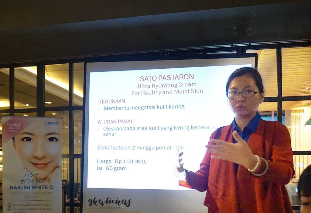 Ibu Yosi Product Manager Hakubi Gathering Indonesia - Excelso Grand Indonesia