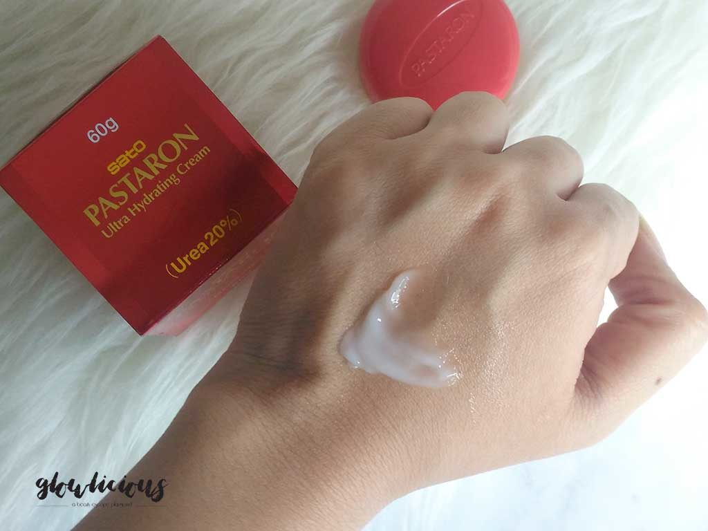 Color, texture, scent SATO Pastaron Ultra Hydrating Cream