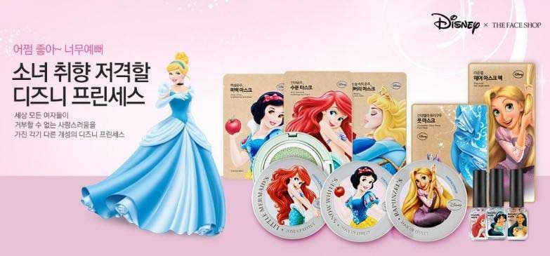 The Face Shop X Disney Princesses