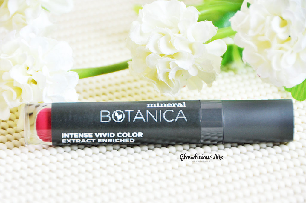 Packaging - kemasan Mineral Botanica Soft Matte Lip Cream in Fantasy Fuschia No. 4