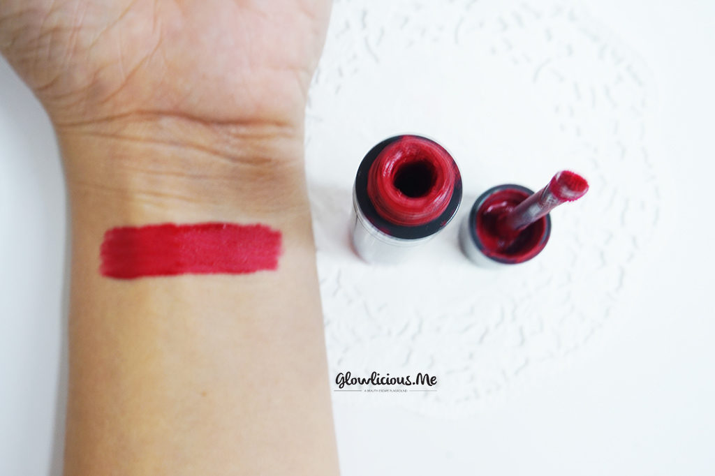 Swatches Mineral Botanica Soft Matte Lip Cream in Fantasy Fuschia No. 4