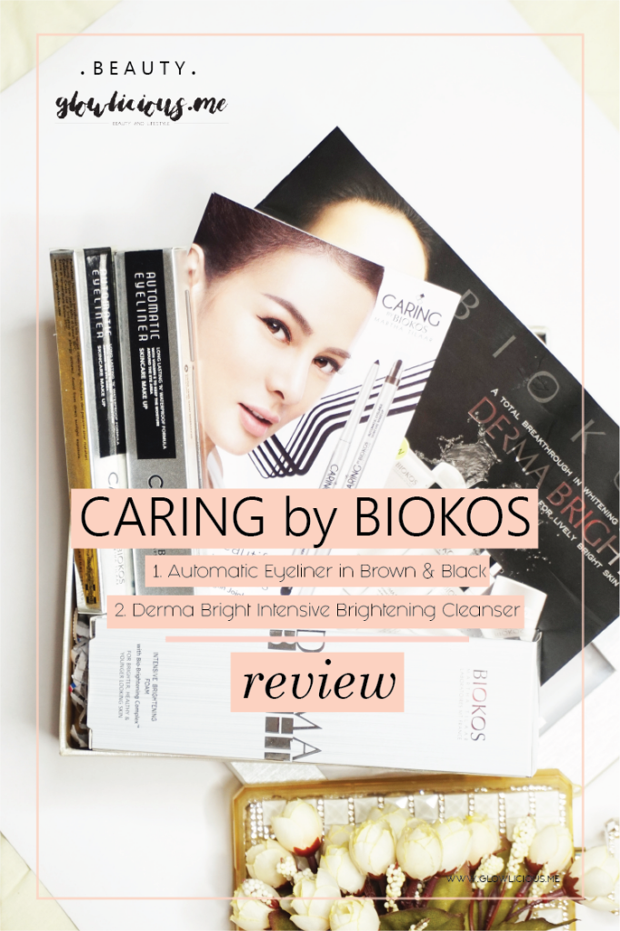 REVIEW | Caring By Biokos Automatic Eyeliner in Brown & Black + Biokos Derma Bright Intensive Brightening Cleanser