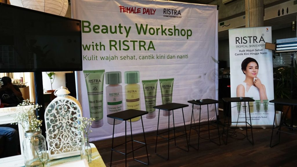Beauty, Cosmedermatology, Event Escape, Event Report, Female Daily, Makeup, Ristra, Ristra Indonesia, Ristra Skincare, Skincare, Skincare untuk semua jenis kulit,
