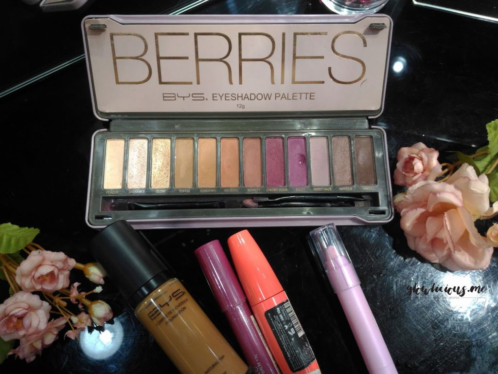 BYS Berries Eyeshadow Palette""